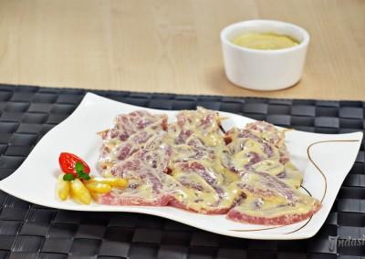 Fleischzöpfe Joghurt Spargel